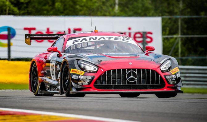24H Spa, qualifiche: Mercedes davanti