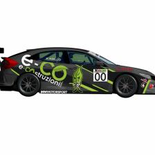 Iannotta & e-COstruzioni con MM Motorsport nel TCR Italy