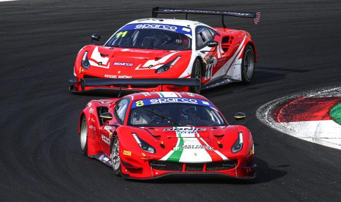 Vallelunga, Audi e Ferrari nelle libere